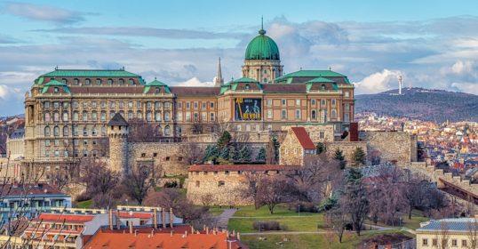Budapest városnézés Budai vár